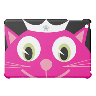 Pretty Pink Cartoon Cat Princess Case For The iPad Mini