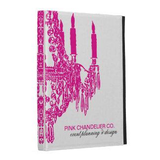 Pretty Pink Chandelier iPad Case