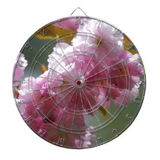 Pretty Pink Cherry Blossoms Dartboards