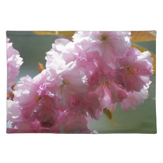 Pretty Pink Cherry Blossoms Placemat