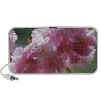 Pretty Pink Cherry Blossoms Travel Speaker