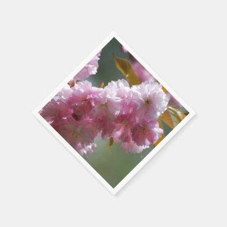 Pretty Pink Cherry Blossoms Paper Napkins