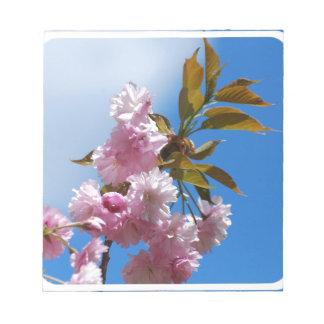 Pretty Pink Cherry Tree Note Pad