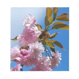 Pretty Pink Cherry Tree Notepad