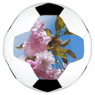 Pretty Pink Cherry Tree Soccer Ball