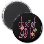 Pretty Pink Class OF 2013 Magnet