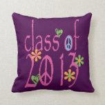 Pretty Pink Class OF 2013 Pillows