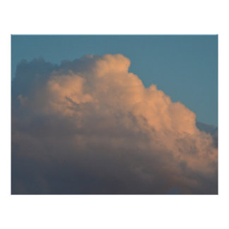 pretty pink cloud formation florida full color flyer