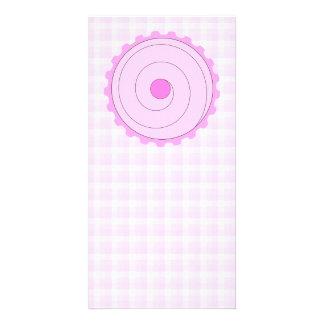 Pretty Pink Cupcake. Card
