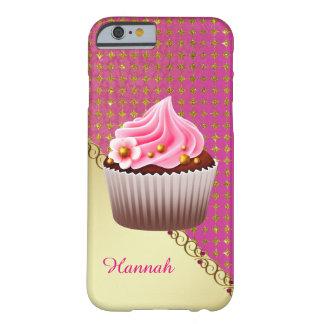 Pretty Pink Cupcake Custom 6/6s Case