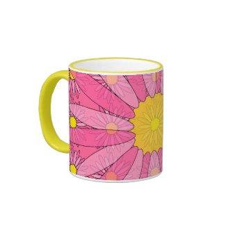 Pretty Pink Daisies mug
