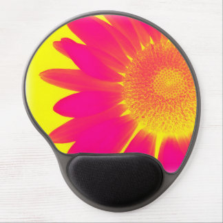 Pretty Pink Daisy Flower Petals Gel Mouse Pad