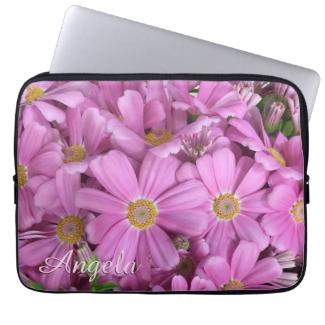 Pretty Pink Daisy Flowers Custom