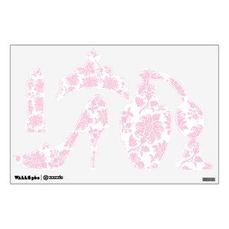 Pretty Pink Damask Girly Stuff