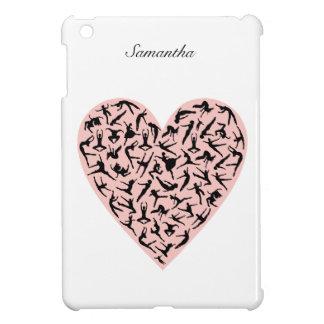 Pretty Pink Dance Heart iPad Mini Case