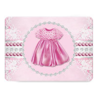 Pretty Pink Diamonds And Pearls Baby Shower