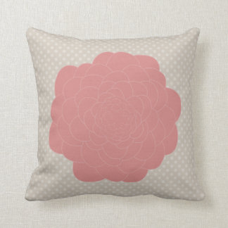 Pretty Pink Doodle Flower Pillows