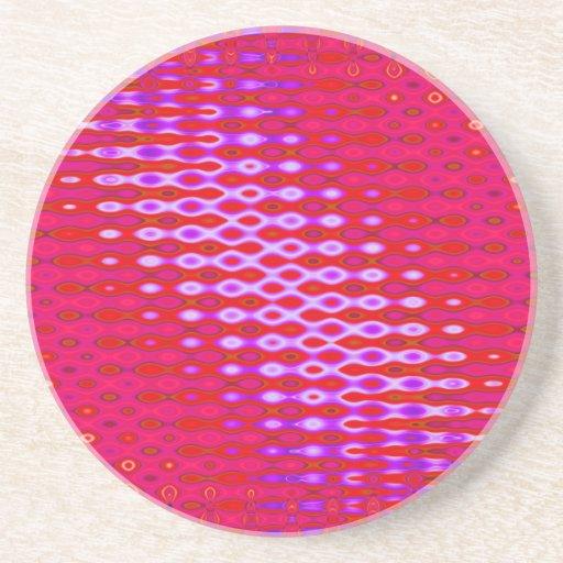 pretty pink drink coaster