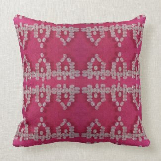 Pretty Pink Fancy Shabby Chic Designer Pillow
