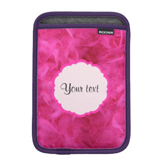 Pretty Pink Feathers iPad Mini Sleeve
