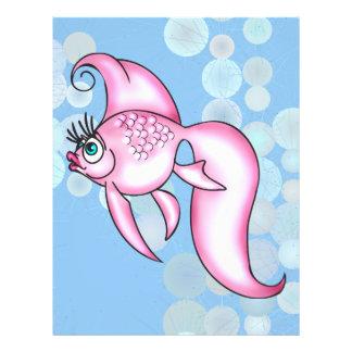 Pretty Pink Fish Flyer