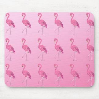 Pretty pink flamingo mousepads