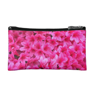 Pretty Pink Floral Make-Up Case