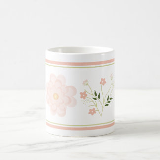Pretty Pink Floral Mug