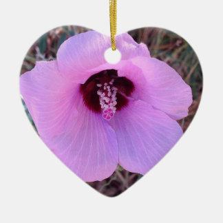 Pretty pink floral ornament
