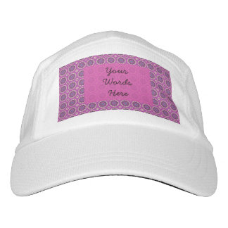 Pretty Pink Floral Pattern Hat