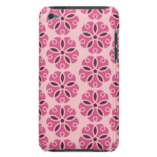 Pretty Pink Floral Phone Case Barely There iPod Cover