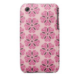 Pretty Pink Floral Phone Case Case-Mate iPhone 3 Cases