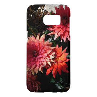 Pretty Pink Floral Samsung Galaxy S7 Phone Case