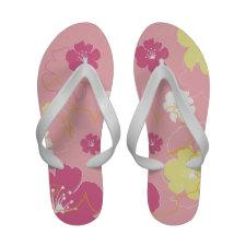 Pretty Pink Floral Sandals