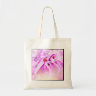 Pretty Pink Flower Blossoms Tote Bag