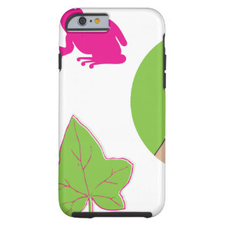 Pretty Pink Frog Tough iPhone 6 Case