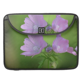 Pretty Pink Geraniums Sleeves For MacBook Pro