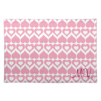 Pretty Pink Heart Home & Kitchen Gifts Placemat