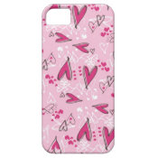 Pretty Pink Hearts Love Valentine's Day Gifts iPhone 5 Covers