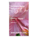 Pretty Pink Hibiscus Business Cards
