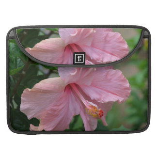 Pretty Pink Hibiscus Sleeves For MacBooks