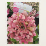"Pretty pink hydrangea. planner<br><div class=""desc"">Taken outside at a local gareden centre.</div>"