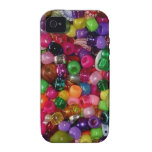 Pretty Pink Jewelry Beads iPhone 4/4S Cover