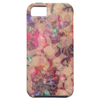 Pretty Pink Lace Roses iPhone 5 Cases