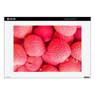 """Pretty Pink Lychee Fruit Pattern Decals For 15"""" Laptops"""