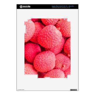 Pretty Pink Lychee Fruit Pattern iPad 3 Decal