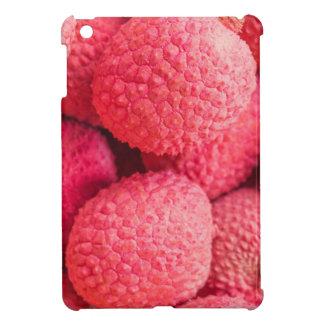 Pretty Pink Lychee Fruit Pattern iPad Mini Cover