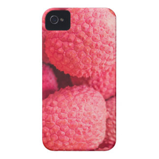 Pretty Pink Lychee Fruit Pattern iPhone 4 Cover