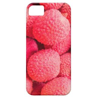 Pretty Pink Lychee Fruit Pattern iPhone SE/5/5s Case