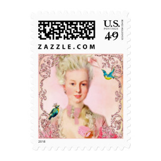 Pretty Pink Macarons Postage Stamps